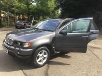 BMW X5 4.4i auto 2002MY. SUPER LOW MILEAGE. 55 K!!! ONLY 2 OWNERS.
