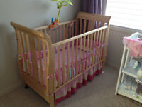 Crib, Dresser and Change Table for Sale