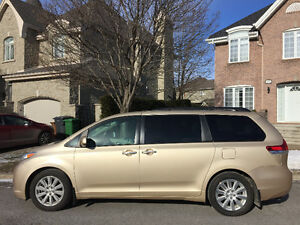 2012 Toyota Sienna Limited FWD Fourgonnette, fourgon