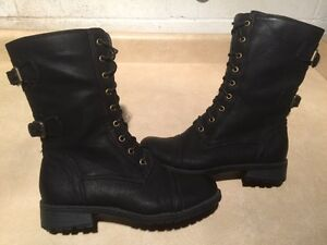 Women's Tall Black Boots Size 7 London Ontario image 1