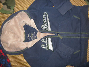 LLbean clothing incl camp hoodie &  Doggie slippers (size 9-10) St. John's Newfoundland image 3