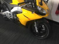 APRILIA RS4 125 4 STROKE PRISTINE BIKE WITH ONLY 8 MILES ON THE CLOCK