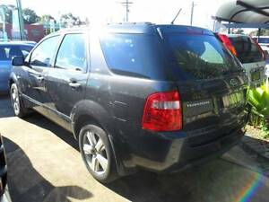 2009 Ford Territory TURBO 4X4 AUTOMATIC 4WD 4D Wagon GREY Lansvale Liverpool Area Preview