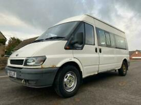 2003 Ford Transit 2003 FORD TRANSIT 2.4 TDI Medium Roof 17 Seater TDi 90ps MINIB