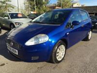 2008 Fiat Grande Punto Hatch 5Dr 1.4 8V 77 Active Petrol blue Manual