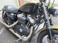 HARLEY NIGHTSTER WITH WIDE GLIDE/AND MORE