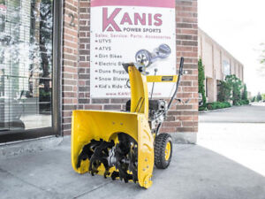 SNOW  BLOWER  SALE 6.5 TWO STAGE