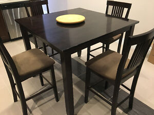 Dining table with for chairs