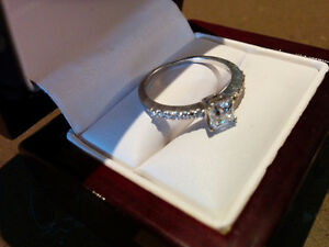 Diamond engagement ring Kitchener / Waterloo Kitchener Area image 2
