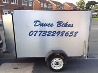 Motorcycle Trailer / Transporter / Motorbike Trailer / Box Trailer