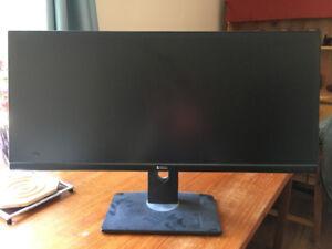 Monitor Dell UltraSharp U2913WM 21:9 ratio 29 inch but = 38 inch