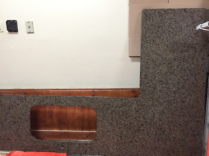 Granite countertop - specific measurements to be added