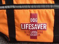Dog life saver jacket