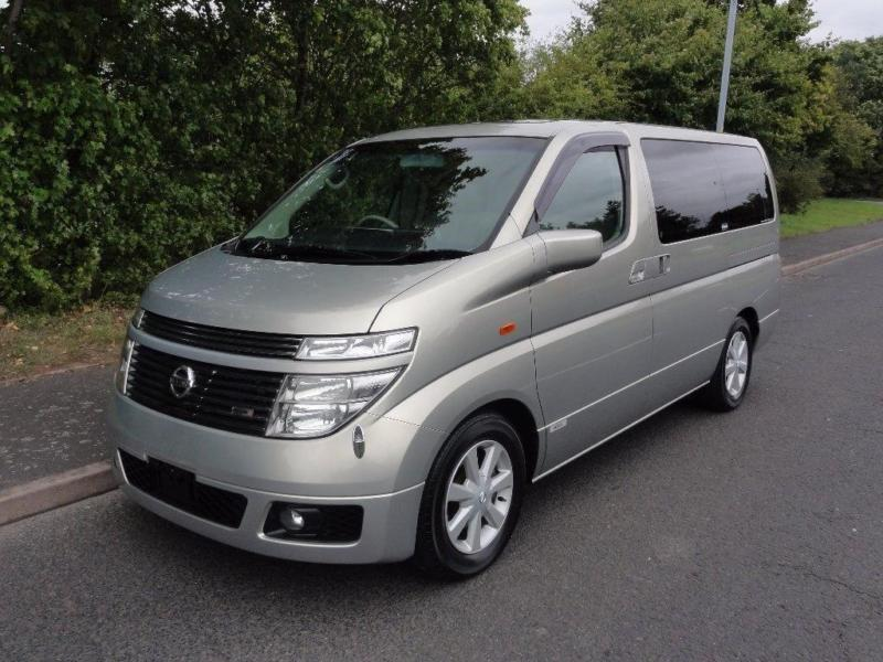 2002 Nissan Elgrand TOP SPEC XL LEATHER SUNROOF FRESH IMPORT 3.5 5dr