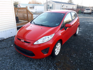 Beautiful red 2013 Ford Fiesta