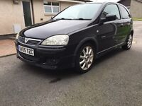 2005 vauxhall corsa 1.4 low MILES HEATED SEATS,LIMITED EDITION Leather interior LONG MOT