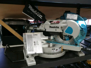 Makita 15amp dual sliding mitre saw