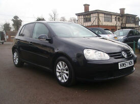 2008/57 Volkswagen Golf 1.9TDI ( 105PS ) DSG Match