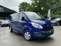 2017 Ford Transit Custom 310 LIMITED AUTOMATIC H1 L2 DOUBLE CAB- LEATHER- SAT NA
