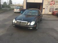 Mercedes E350 luxury 2008