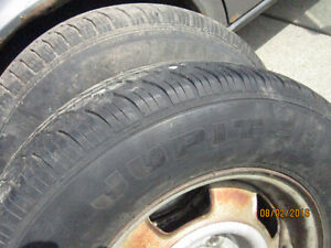 set of 205/70r14 on volvo 240 rims
