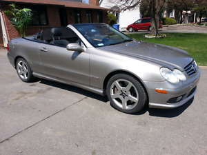 2005 Mercedes-benz clk 500 convertible