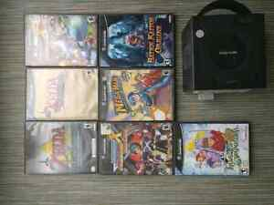 ps1, ps2, Gamecube, Wii games. + consoles