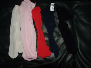 Group of Nylons 0-6 mth