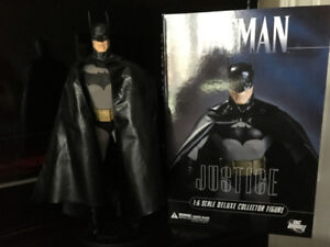 batman 13 inch dc direct deluxe alex ross figure $60.00