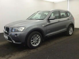 £254.89 PER MONTH - 2011 BMW X3 2.0TD xDrive20d SE DIESEL MANUAL