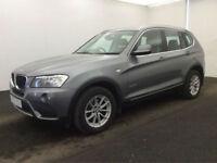 £276.14 PER MONTH - 2011 BMW X3 2.0TD xDrive20d SE DIESEL MANUAL