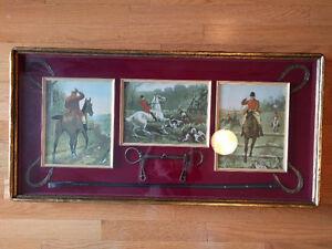 Equestrian-themed Framed Art