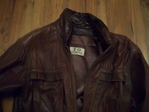 1980's lamb leather jacket