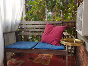 SET TERASSE - OUTDOOR BENCH AND CHAIR + OTHER ITEMS TO VISIT