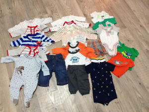 Baby Boy Clothes NB & 0-3 months