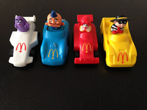 McDONALD'S---PULL AND GO RACE CARS