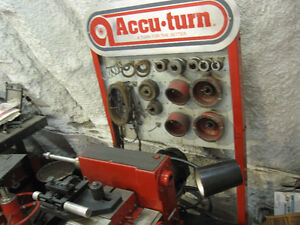 Accuturn,bosch tour à frein,brake lathe