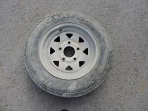 1 pneu de remorque 5-30-12 $10.00 4 pneu  4.80/400-8 $100.00