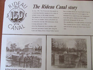 THE RIDEAU CANAL STORY PRINTS Cornwall Ontario image 2