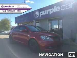 2013 Suzuki Kizashi SX AWD Bluetooth Navigation Leather warranty