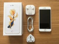 UNLOCKED APPLE IPHONE 6S PLUS 128GB IN GOLD - WITH 3 MONTHS WARRANTY - LIKE NEW