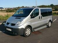 RENAULT TRAFIC FACTORY CREW CAB 9 SEATER NEW TIMING CHAIN SWB ISOFIX PX NO VAT