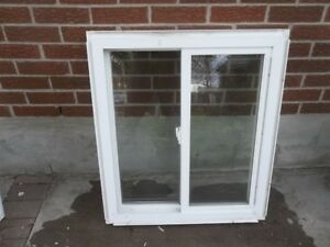 Used and good condition Vinyl and Aluminum windows