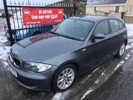 2007 BMW 118D ES FULL SERVICE HISTORY, 1 YEAR MOT, WARRANTY, NOT ASTRA FOCUS MEGANE GOLF A3