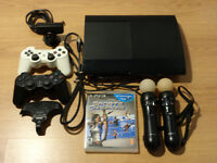 Sony PS3 with controller and all attachments in mint condition