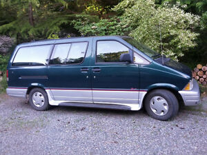 1997 Ford Aerostar Minivan, Van