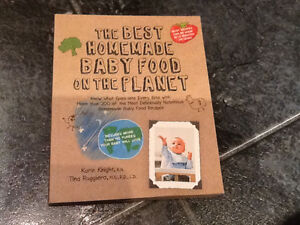 The best homemade baby food on the planet - cook book Kingston Kingston Area image 1