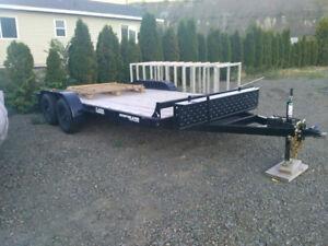 Brand new 16ft flat deck trailer