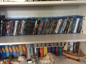 +300 DVDs and Blu-Rays - $175 or Offers