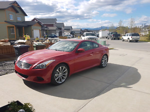 2008 Infiniti G37s Coupe, low kms